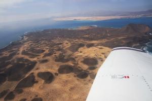 beach, corralejo, volcano, isla de lobos, fuerteventura, canaries