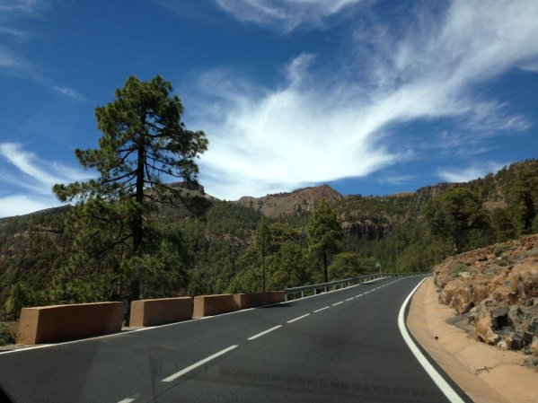 Road to Teide