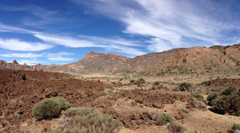 Panoramatický výhľad na Cañadas del Teide