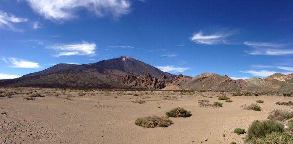 Panoramic View over Pico del Teide