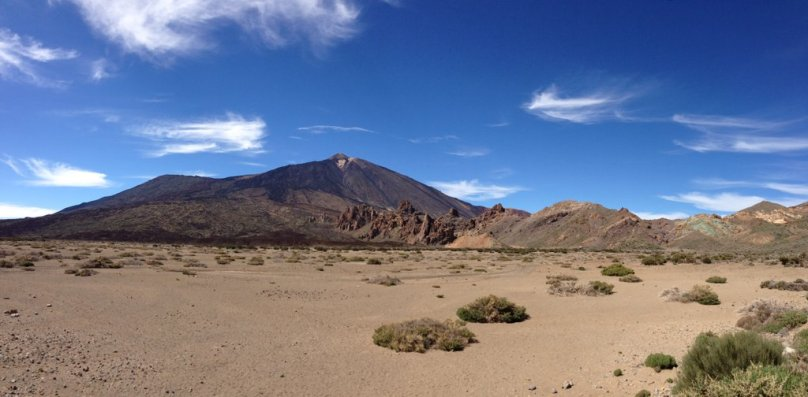 Panoramatický výhľad na Pico del Teide