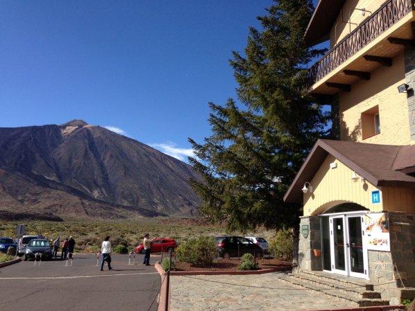 "Horský hotel ""Parador Cañadas del Teide"""