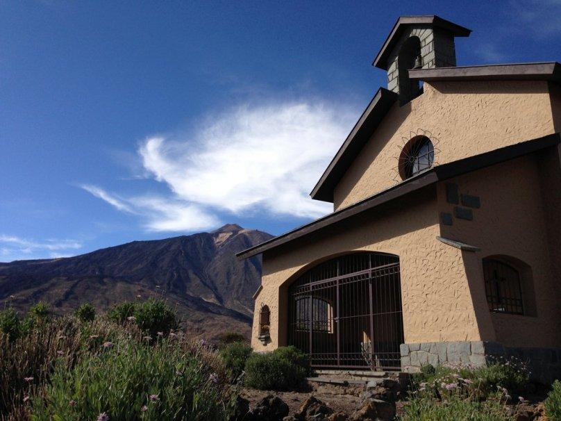 Kostolík pri Roques de García