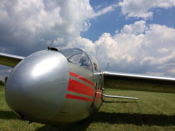 "Glider ""Blaník"", reg. OM-2709"