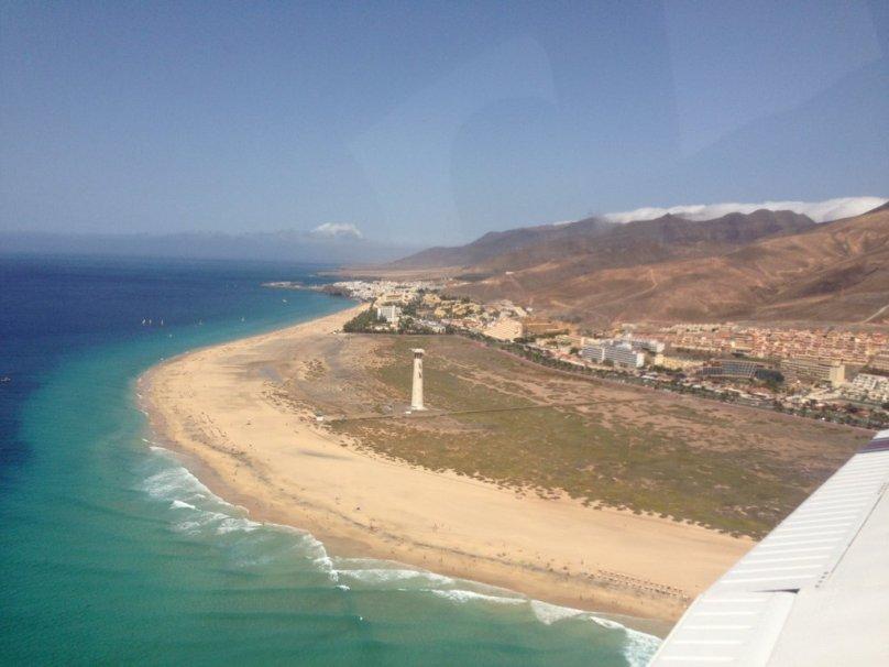 Beach and Lighthouse Jandía