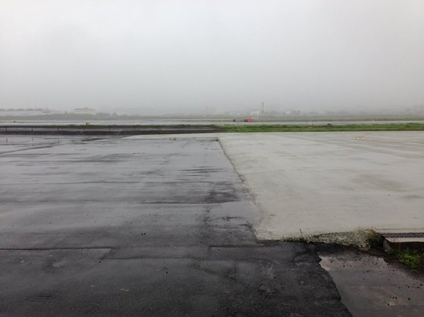 Not the best flying weather