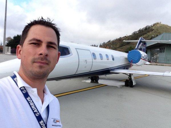 Learjet 35 (reg. D-CGRC)