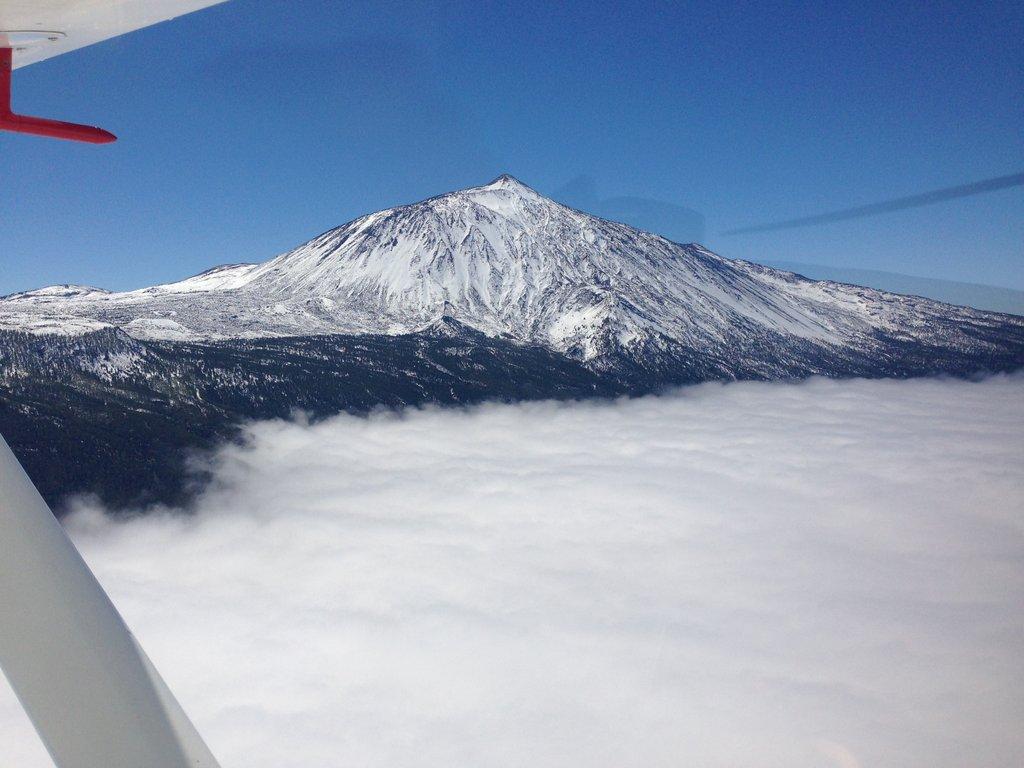 Snowed Mt. Teide