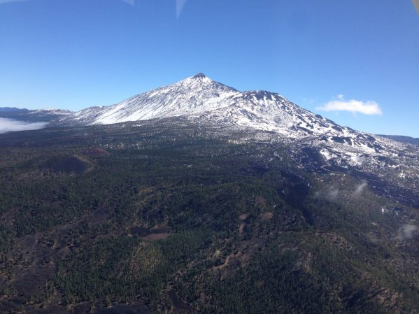 Snowed Mt. Teide