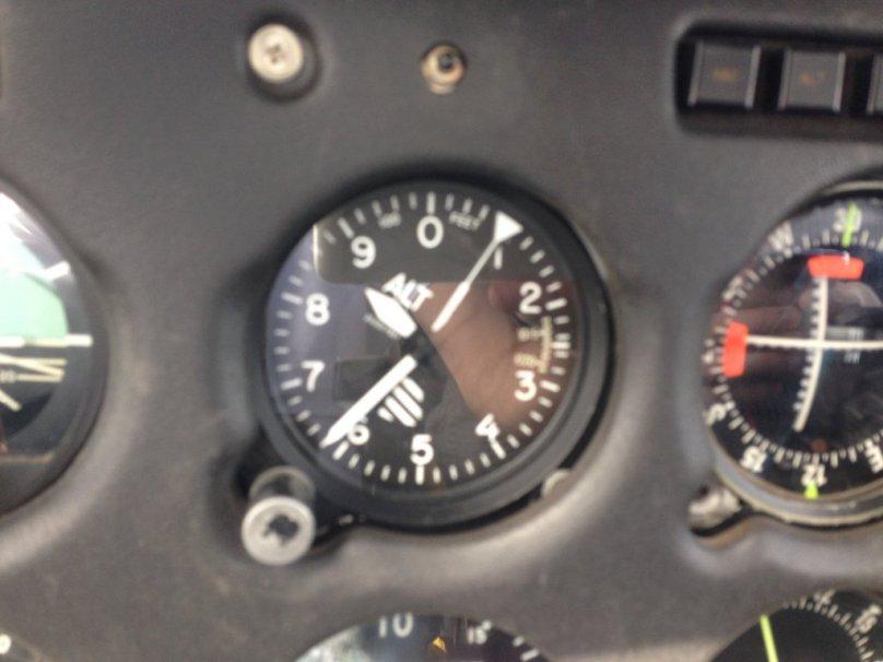 Cruising at 8,600 feet