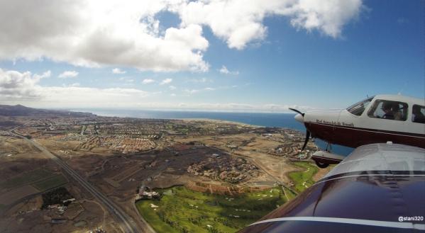 Over Maspalomas, Granc Canaria