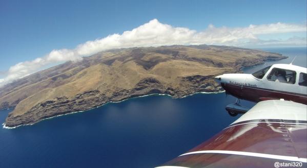 Approaching La Gomera