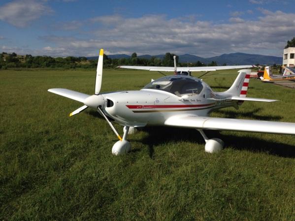 Dynamic WT-9 (OM-AKB), Ocova airstrip