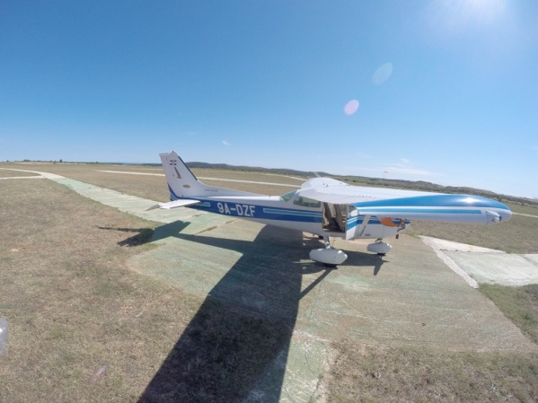 Cessna/Reims 172 ready for the next flight