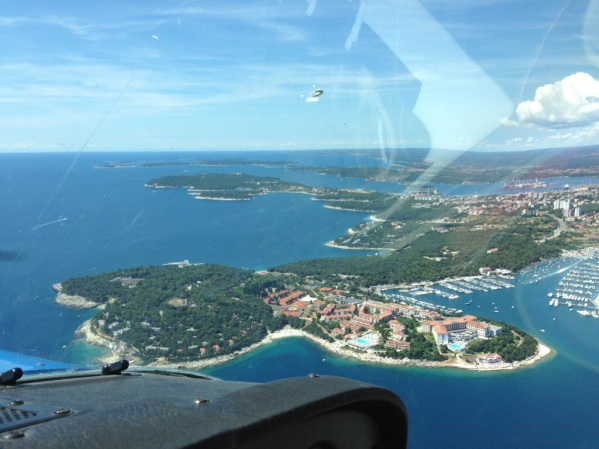 Pula - sorry for the dirt windshield :-)