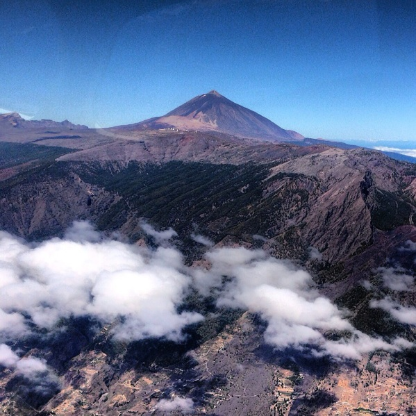 Iñaza Observatory and Pico del Teide