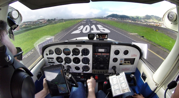Happy landings in 2015