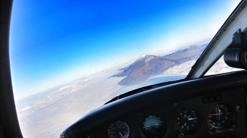 Great views at Mt. Teide