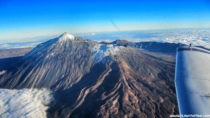 Pico del Teide a Pico Viejo