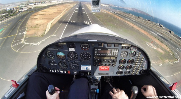 On final for RWY 03L at GCLP