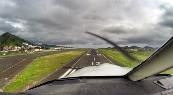 About to land at my home airport GCXO (Tenerife North)