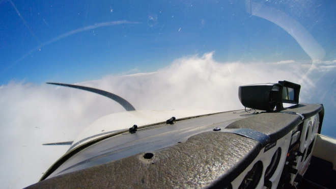 Obligatory cloudsurfing. This is heaven!!!