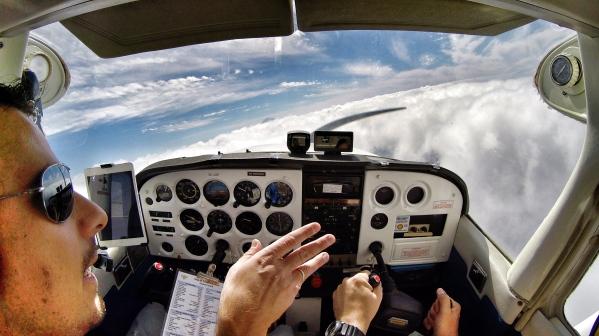 Cloudsurfing.