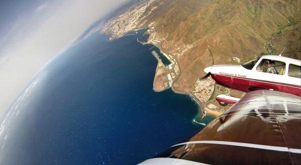 Above Las Teresitas