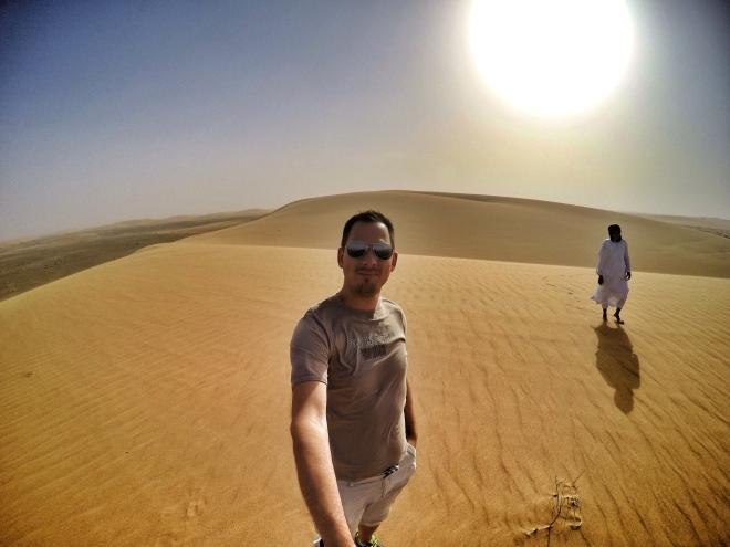 In the (Western) Sahara Desert