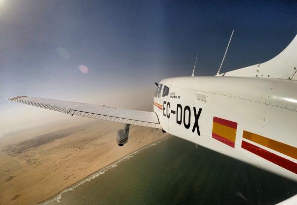 Reaching the Morocco's coast