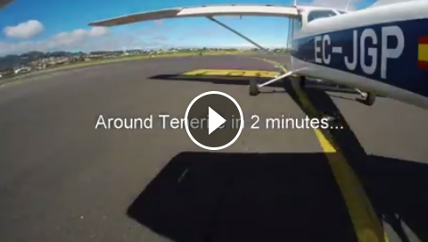 around tenerife in 2 minutes