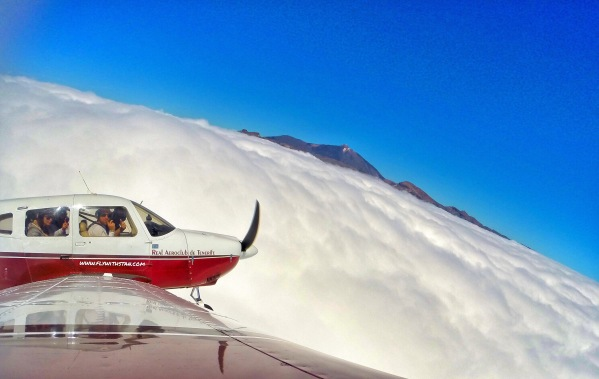 Mt. Teide above the clouds