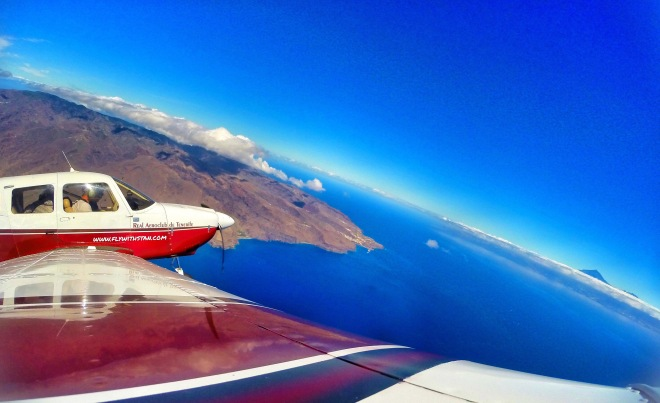 La Gomera and Tenerife's Mt.Teide