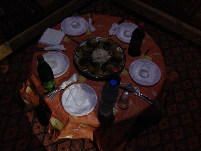 Our dinner was really delicious