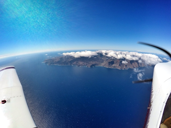 Reaching La Gomera