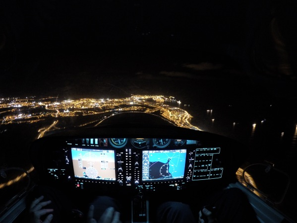 Over Las Palmas de Gran Canaria