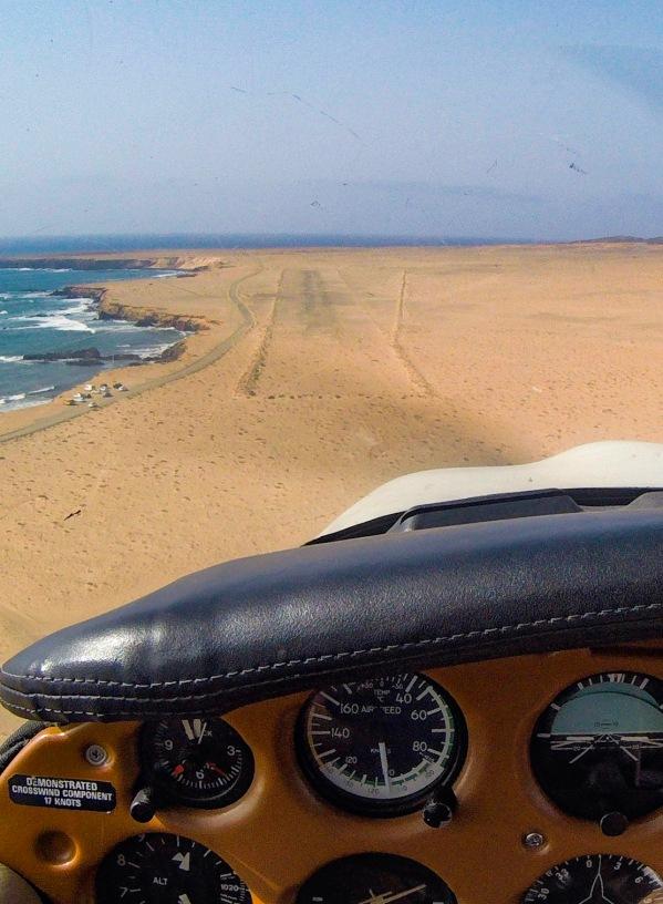 Punta de Jandía landing strip