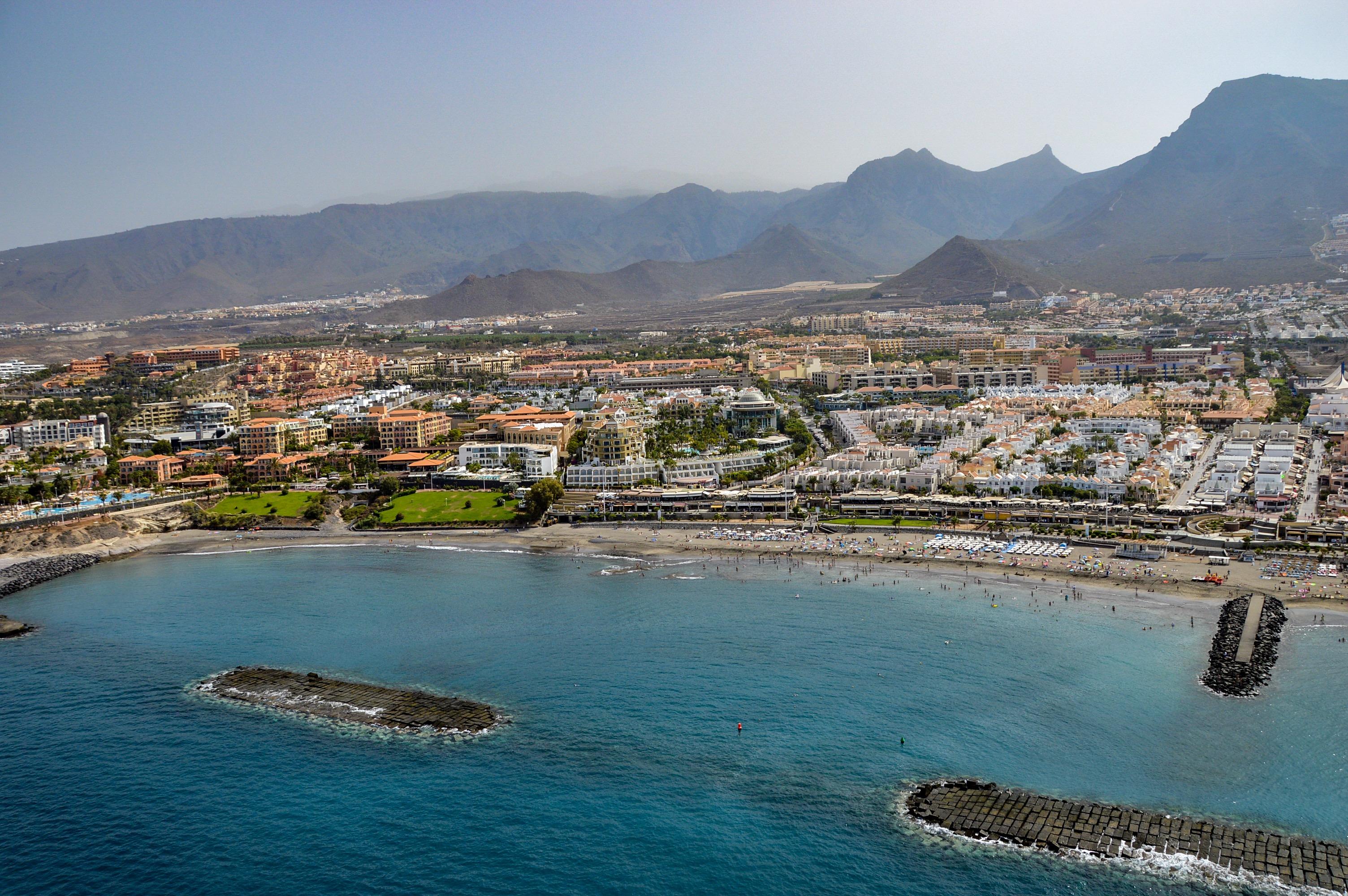 Playa de Fañabé, Tenerife