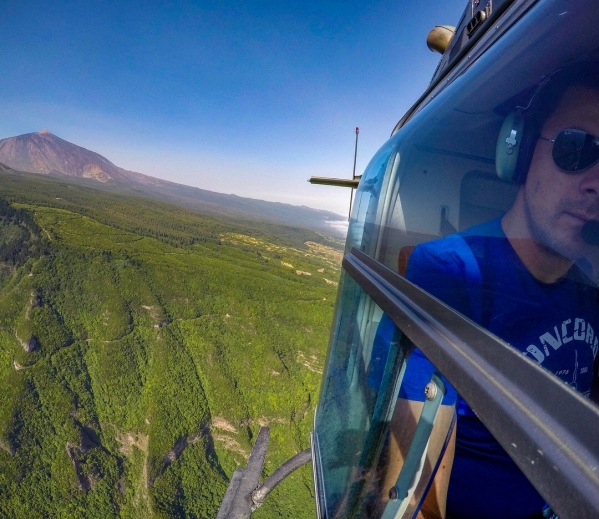 Selfie with Pico del Teide :-)