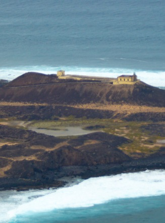 Lighthouse on Isla de Lobos