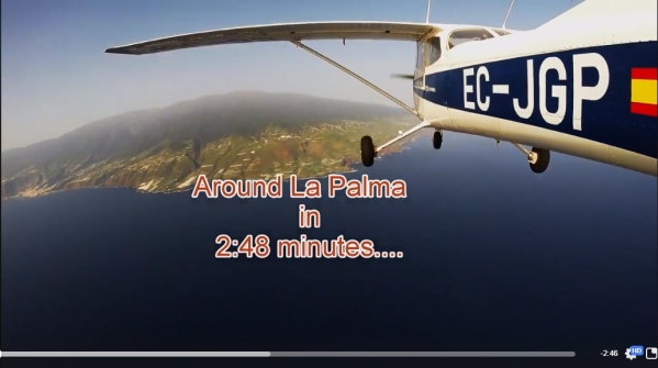 Around La Palma in 2:48 minutes