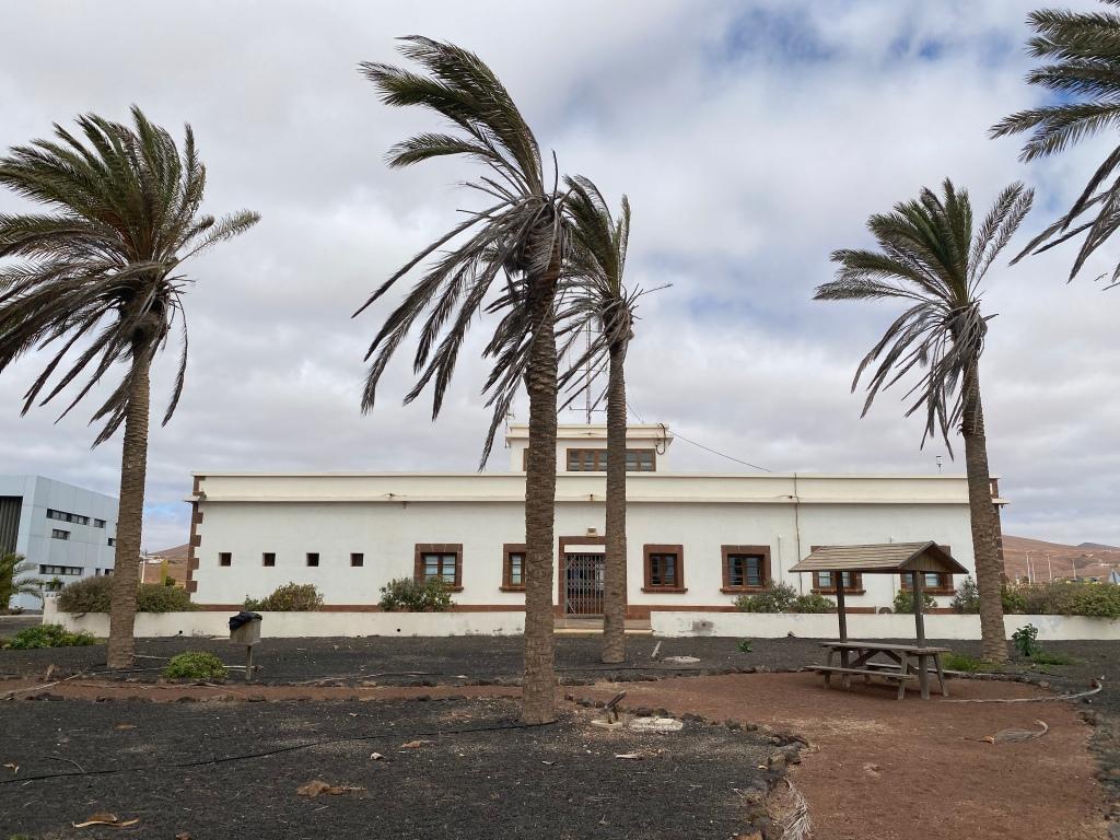 Fuerteventura's old Airport Los Estancos