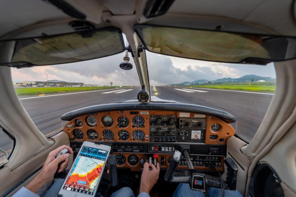 Landing into Tenerife north. Credit: Moisés Mendoza 📸
