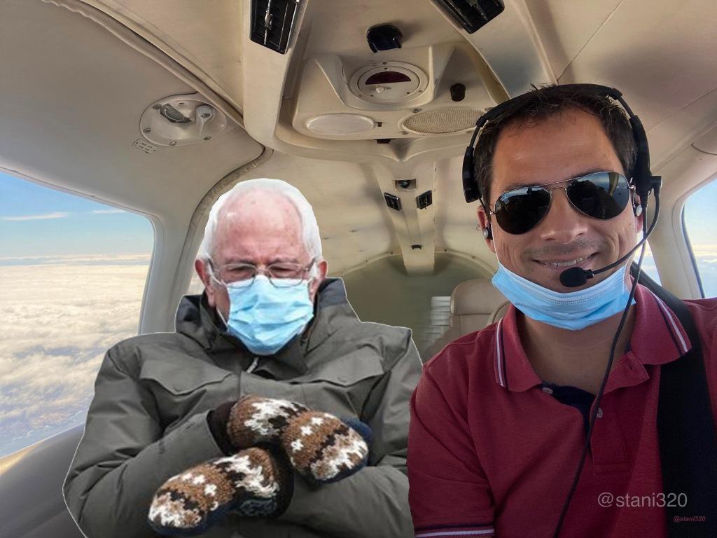 Bernies Sanders meme